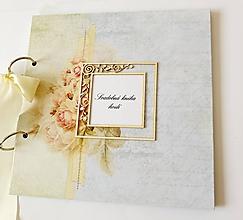 Papiernictvo - svadobná kniha hostí - 11168020_