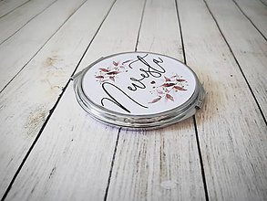 Zrkadielka - Svadobné zrkadielko - 11168318_