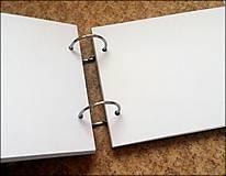 Papiernictvo - Fotoalbum svadobný * kniha hostí A5 - voliteľný nápis - 11168648_