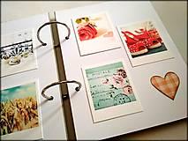 Papiernictvo - Fotoalbum svadobný * kniha hostí A5 - voliteľný nápis - 11168650_