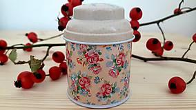 Svietidlá a sviečky - Sviečka zo sójového vosku - kvet - 11168308_