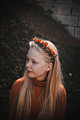 Ozdoby do vlasov - Čelenka - Jesenný čas - 11169371_