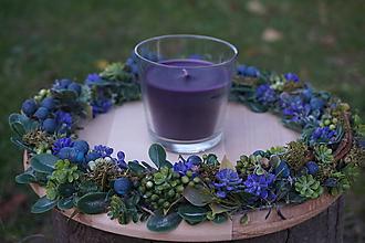 Svietidlá a sviečky - Svietnik - Divý vinič - 11169640_