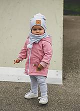 Detské oblečenie - Prechodná softshell bunda Pink - 11169925_