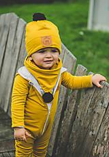Detské doplnky - Tunel/šatka PomPom - 11170151_