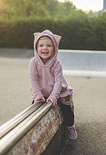 Detské oblečenie - Rastúce šaty Fox  (staroružová) - 11169979_