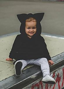 Detské oblečenie - Rastúce šaty Fox  (čierna) - 11169996_