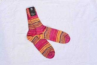 Obuv - Vlnené ponožky - 11169787_