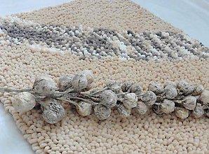 Úžitkový textil - Jemný a ľahučký koberček kučeravý - 11168635_