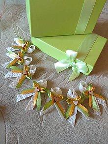 Darčeky pre svadobčanov - Svadobne pierka - 11168163_