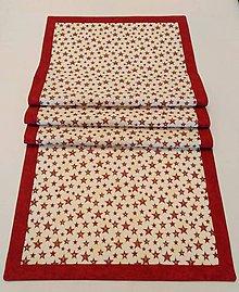 Úžitkový textil - VIANOČNÝ STREDOVÝ OBRUS - 11167928_