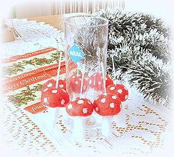 Dekorácie - Plstené vianoce -  hríbik - 11168632_