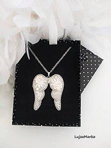 Náhrdelníky - Anjelské krídla - 11168927_