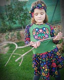 Detské súpravy - Šaty na ľudovú nôtu ;) - 11172233_
