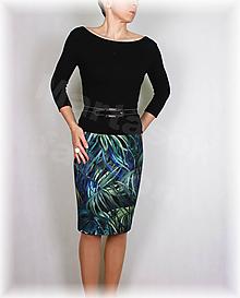 Sukne - Sukně z krásné rifloviny  vz.666 - 11170807_