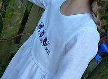 Detské oblečenie - Šatočky Ramia Vtáčik SlovAB - 11170309_