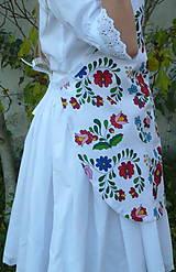 Detské oblečenie - Zásterka Folklórne kvety - 11170386_