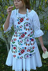 Detské oblečenie - Zásterka Folklórne kvety - 11170387_