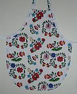 Detské oblečenie - Zásterka Folklórne kvety - 11170388_