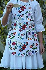 Detské oblečenie - Zásterka Folklórne kvety - 11170392_