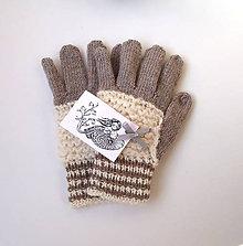 Rukavice - Rukavice prstové buklé - 11172341_