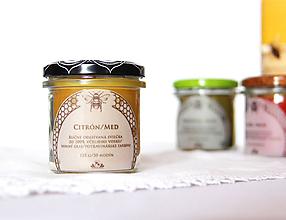 Svietidlá a sviečky - SVIEČKA z včelieho vosku citrón/med - 11172163_