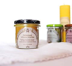 Svietidlá a sviečky - SVIEČKA z včelieho vosku - prírodná - 11172195_