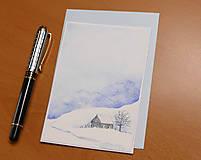 Papiernictvo - Pohľadnica - Zimná krajinka 3 - 11172361_
