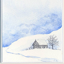 Papiernictvo - Pohľadnica - Zimná krajinka 3 - 11172357_
