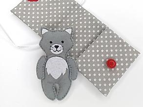 Hračky - Drobnosti v kapsičke pre dievčatá (Mačička) - 11171979_