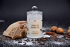 Svietidlá a sviečky - Vianočná rozprávka - Vianočné medovníčky - 11173065_