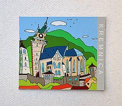 Magnetky - Kremnica Kostol svätej Kataríny Alexandrijskej MAGNETKA - 11171239_