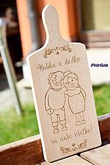 Pomôcky - Lopárik - Babka a Dedko... - 11171672_