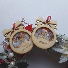 Drobnosti - Vianočné gule s vašou foto - 11171511_