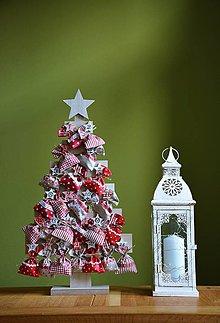 Dekorácie - Adventný kalendár / adventné vrecúška – stromček - 11170206_