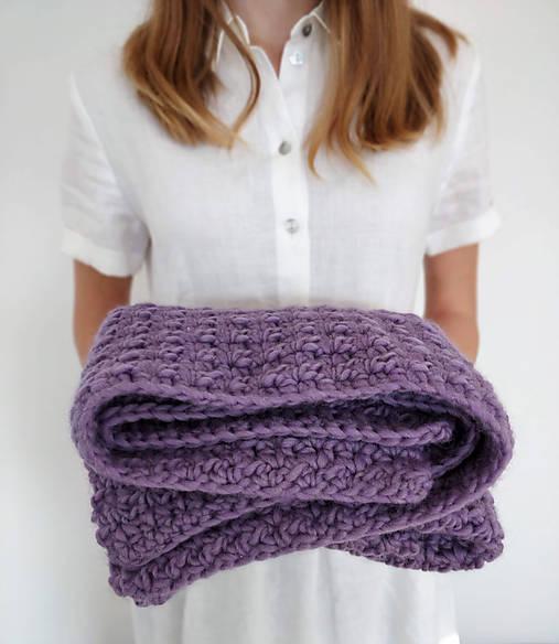 Vlnená detská deka