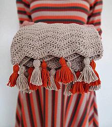 Textil - Detská deka z egyptskej bavlny - 11172081_