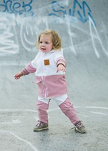 Detské oblečenie - Zimná softshell bunda Double - 11170153_