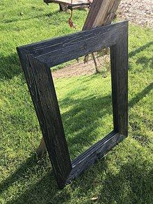 Zrkadlá - Zrkadlo s kefovaným rámom - 11170730_