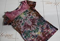Tričká - Dámske tričko s čipkou, M - 11172990_