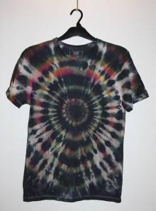 """Oblečenie - Pánske tričko, veľkosť S, """"čierna explózia"""" - 11172707_"""