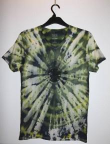 """Oblečenie - Pánske tričko, veľkosť S, """"čierna diera"""" - 11172729_"""