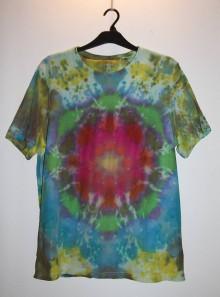 """Oblečenie - Pánske tričko, veľkosť XL, """"mandala"""" - 11172742_"""