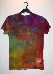"""Oblečenie - Pánske tričko, veľkosť XS, """"farebný mišmaš"""" - 11172753_"""