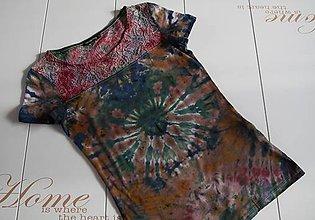 Tričká - Dámske tričko s čipkou, S - 11172978_