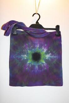 """Nákupné tašky - Batikovaná taška, """"oko"""" - 11173117_"""