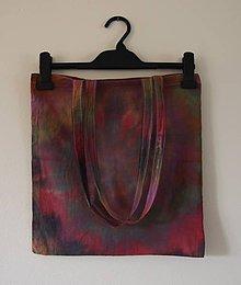 Nákupné tašky - Batikovaná taška - 11173138_