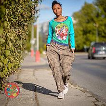 Nohavice - Origo gaťuše káro easy - 11171592_