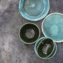 Nádoby - Keramická miska zelená - 11172413_