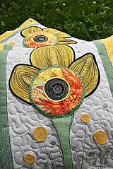 Úžitkový textil - Vankúše - kvet - LIMITED EDITION - 11172875_